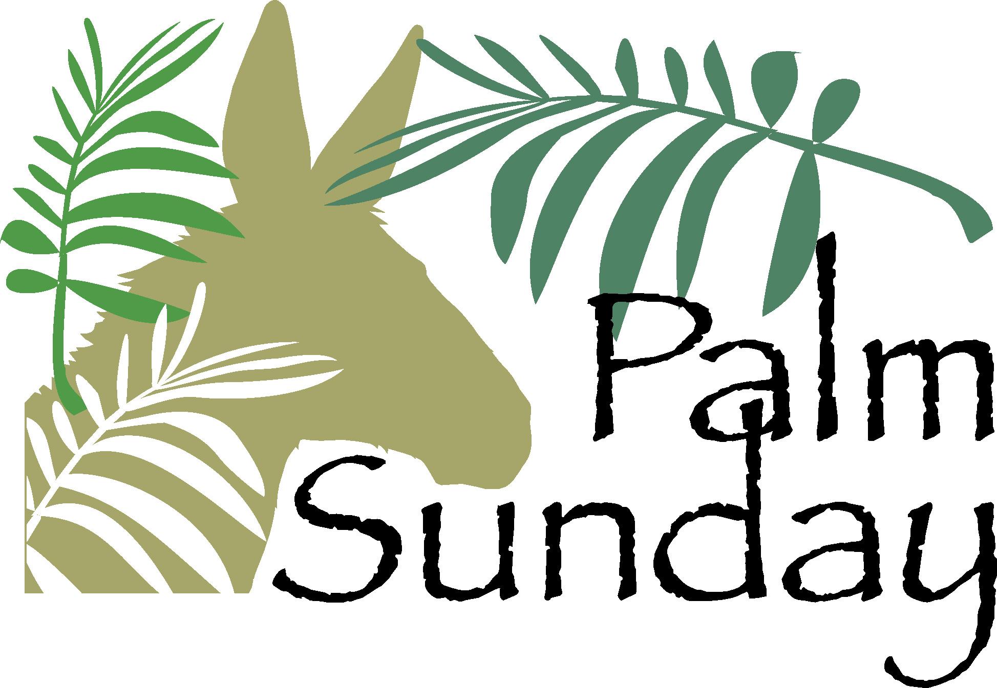 Palm Sunday Sunday School Palm Sunday